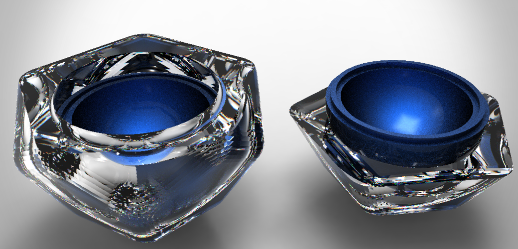 Jewelery gift box 5th element 3D Print 124734
