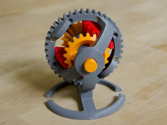 Spherical Differential 3D Print 124782