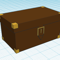 Small Simple Suitcase 3D Printing 124920