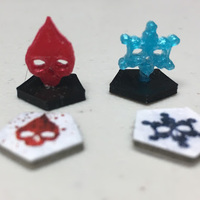 Small Dead of Winter - Tokens 3D Printing 124921
