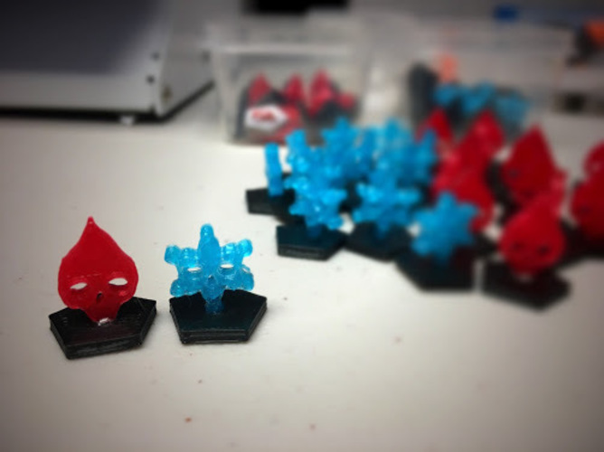 Dead of Winter - Tokens 3D Print 124922