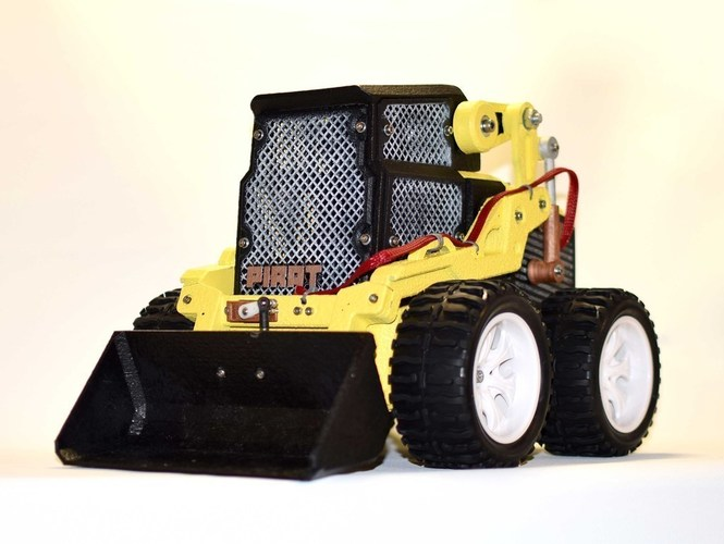 RC Mini Loader 3D Print 124939