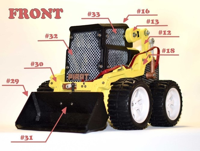 RC Mini Loader 3D Print 124942
