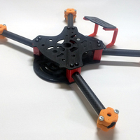 "Small Quadcopter ""Pirat Mini"" 3D Printing 124946"