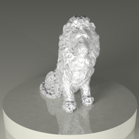 Small LION 3D Printing 125073