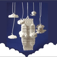 Small The Impossible Castle (Ornamental Mobile) 3D Printing 1251