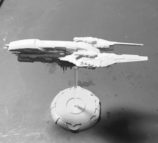 30mm 35mm and 50mm bases for DropFleet Commander 3D Print 125136