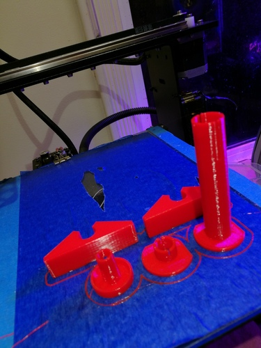 Tabletop Hydroponics fittings 3D Print 125252
