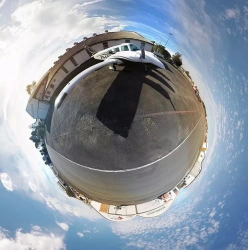 360 Panorama - Spheric Head for GoPro 3D Print 125288
