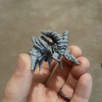 Small War Beetle 3D Printing 125344