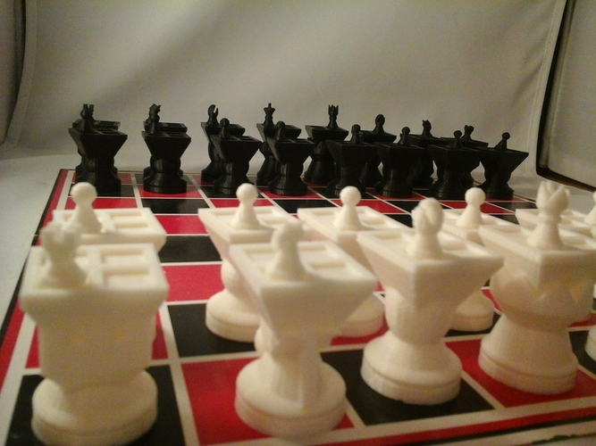 MetaChess Chess-on-Chess game variant 3D Print 125363