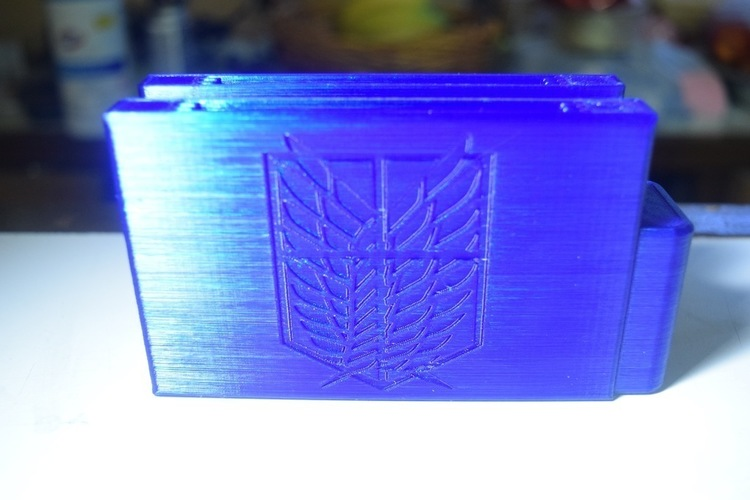 Video Game/Anime Themed Wallets 3D Print 125371