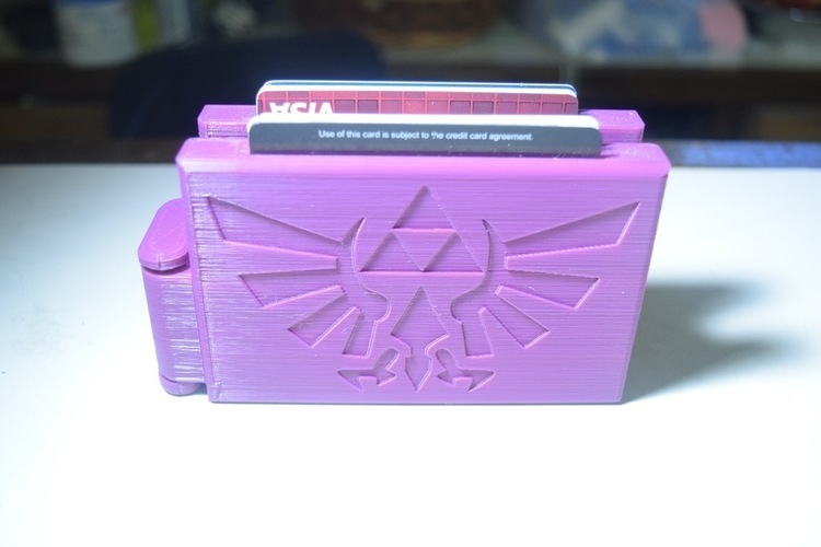 Video Game/Anime Themed Wallets 3D Print 125375