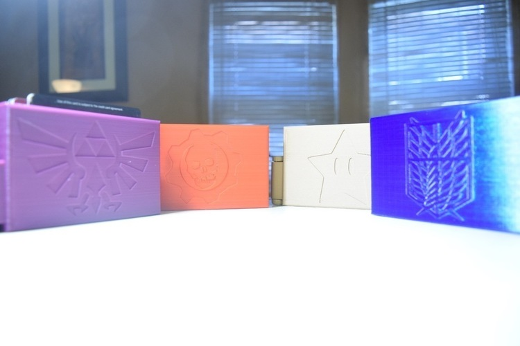 Video Game/Anime Themed Wallets 3D Print 125376
