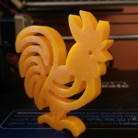 Small Wifi Rooster Chinese New Year 3D Printing 125405
