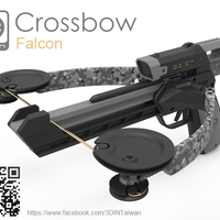 Small Crossbow 3D Printing 125435
