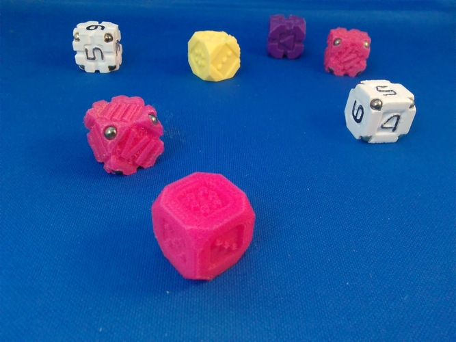 EarthDice Variation 1 - Prototype 3D Print 125471