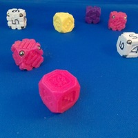 Small EarthDice Variation 1 - Prototype 3D Printing 125471
