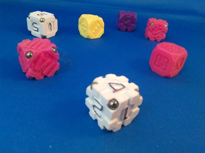 EarthDice Variation 2 - Space Body 3D Printing 125475