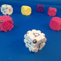 Small EarthDice Variation 2 - Space Body 3D Printing 125475