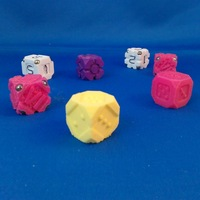 Small EarthDice Variation 4 - Diamond Joe 3D Printing 125482