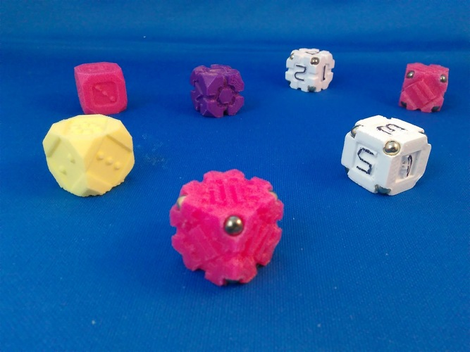 EarthDice variation 6 - Gears 3D Print 125490