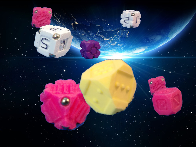 Space Dice Variation 4 - Diamond Joe 3D Print 125512
