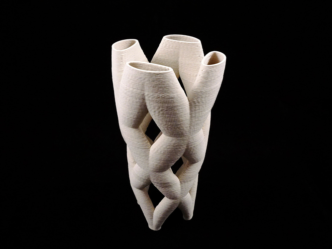 Sculpture_pipe – 07232016 3D ceramic 3D Print 125635