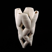 Small Sculpture_pipe – 07232016 3D ceramic 3D Printing 125635
