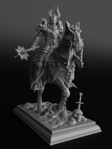 Horseman_of_Doom 3D Print 125688