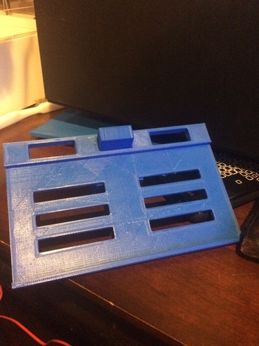 Iphone Outlet Shelf/platform 3D Print 125925