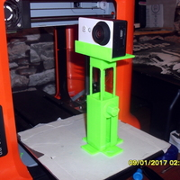 Small Adjustable mini camera stand 3D Printing 126037
