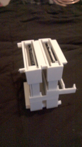 Stackable racking caddy For SSD or HDD 3D Print 126074