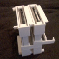 Small  Stackable racking caddy For SSD or HDD 3D Printing 126074