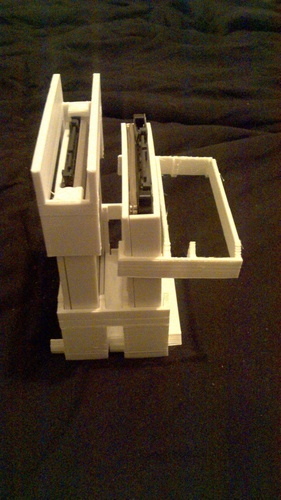 Stackable racking caddy For SSD or HDD 3D Print 126076