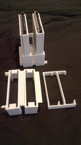 Stackable racking caddy For SSD or HDD 3D Print 126077