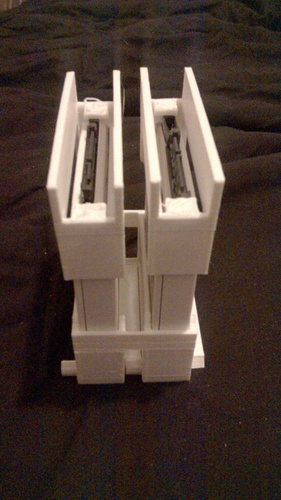 Stackable racking caddy For SSD or HDD 3D Print 126079