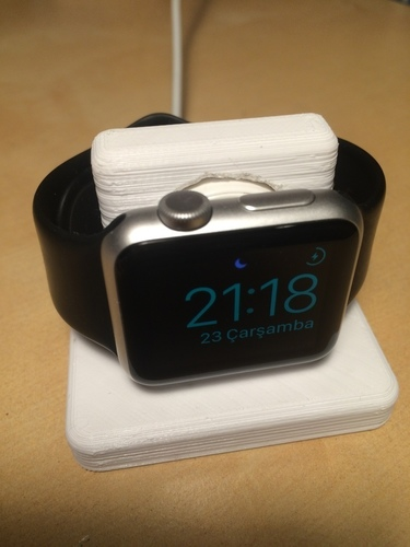 Apple Watch Night-Stand 3D Print 126120