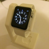 Small Apple Watch Charging Stand 3D Printing 126141
