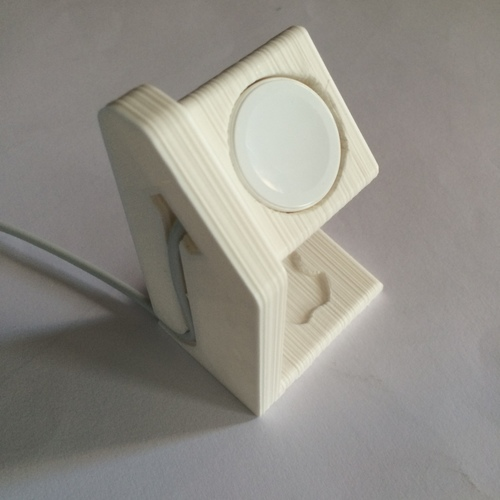 Apple Watch Charging Stand 3D Print 126143