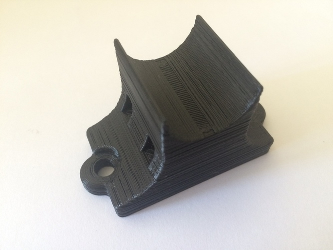 GoPro & iPhone 5 Universal Bike Mount 3D Print 126154