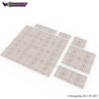 Small HG3D Dungeon Tile Set - 28mm 3D Printing 126180