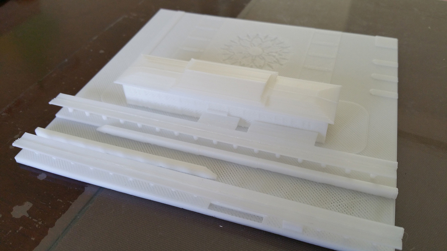 The high speed railway station design 3D Print 126310