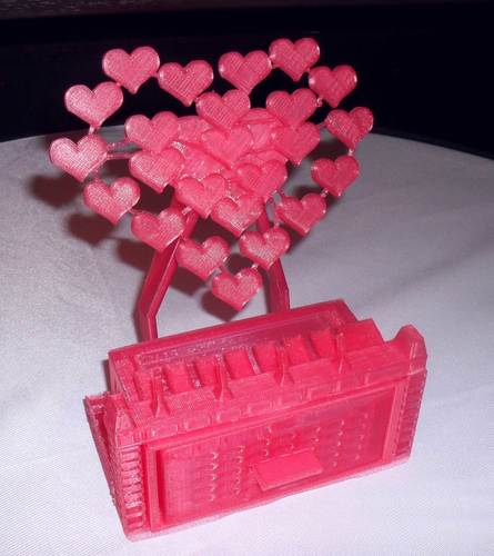 Mobile phone stand/jewellery box 3D Print 126385