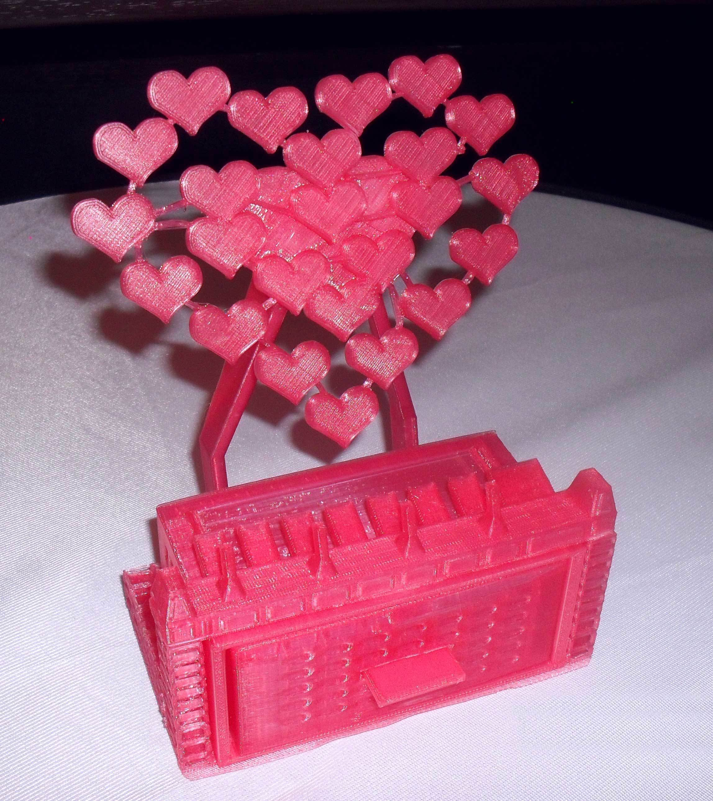 3D Printed Mobile phone stand/jewellery box by chris_rendall | Pinshape
