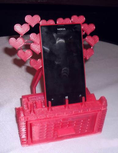 Mobile phone stand/jewellery box 3D Print 126387