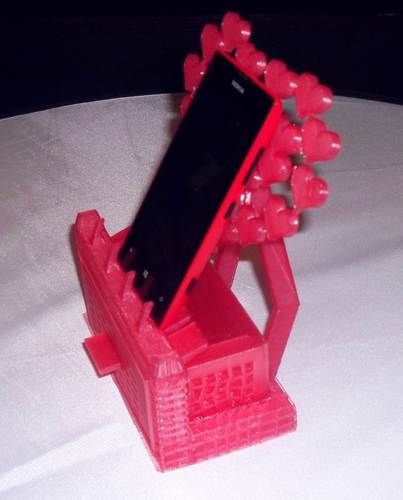 Mobile phone stand/jewellery box 3D Print 126388