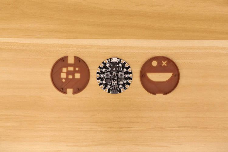Circuit Playground Express Case 3D Print 126413