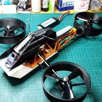 Small KTM Ascender RC tri copter  3D Printing 126467