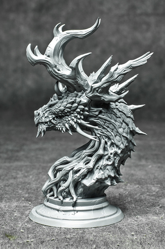 Forest Dragon 3D Print 126475